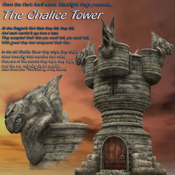 Chalice Tower - Poser